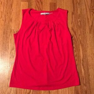 Andrew Marc Red Tank Top